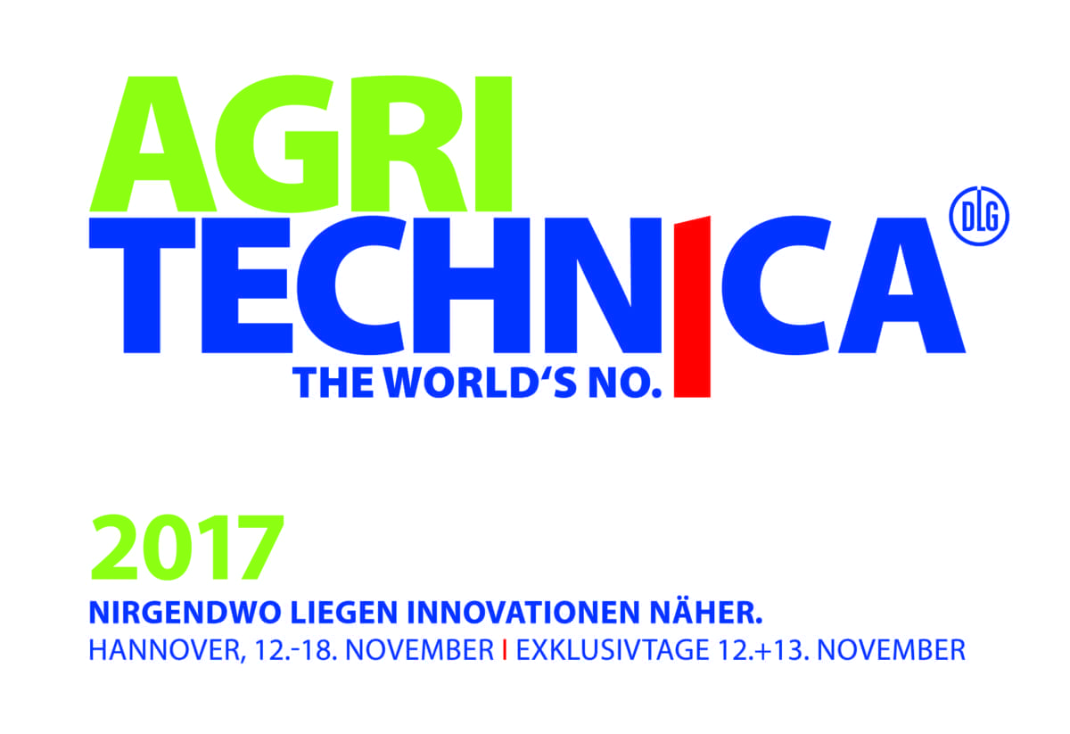 agritechnica logo in german