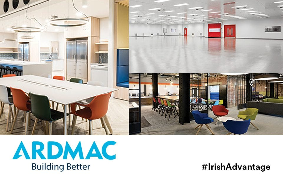 Partnering with the best multinationals helped make Irish construction firm Ardmac world class