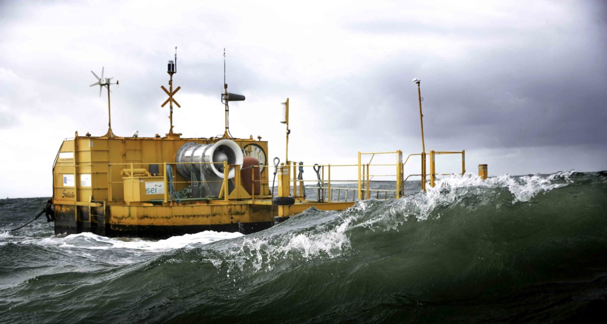 Ocean Energy and Vigor partner in building the OE Buoy Wave Convertor (marine hydrokinetic convertor) for US Navy Wave Energy Test Site in Hawaii