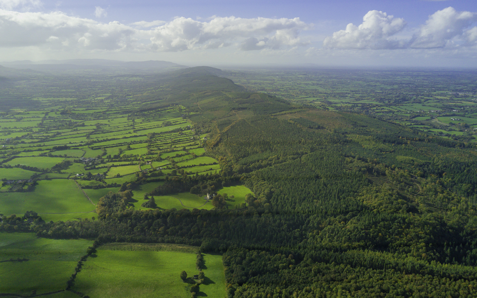 "the rich pasturelands of the ""Golden Vale"" - Ireland's rich farming and agricultural heritage led to agritech innovations"