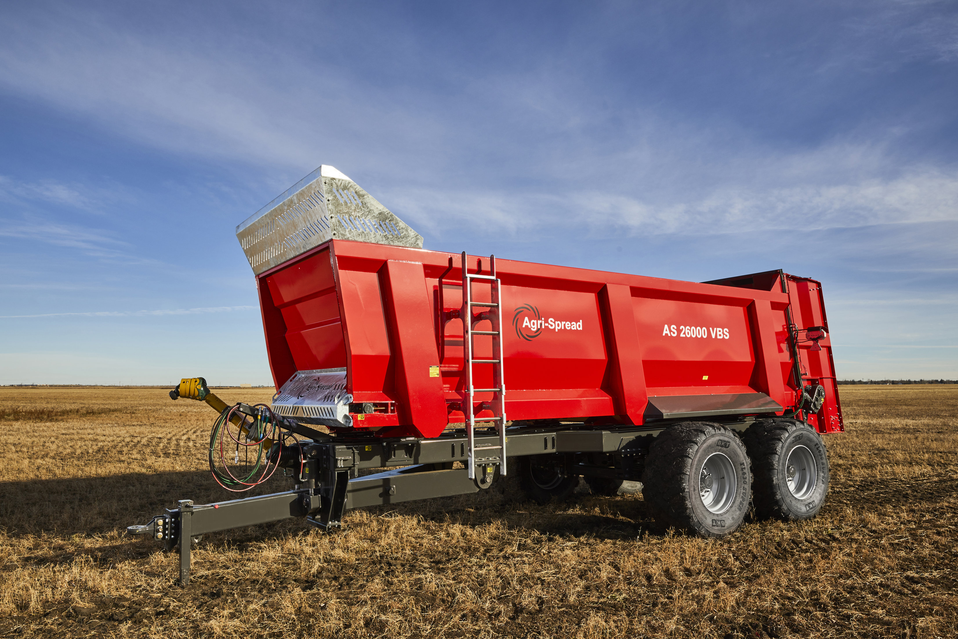 Agrispread brings technology to farm machinery