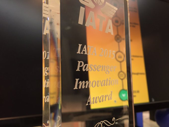 CityHook's International Air Transport Association (IATA) awards for payments innovation