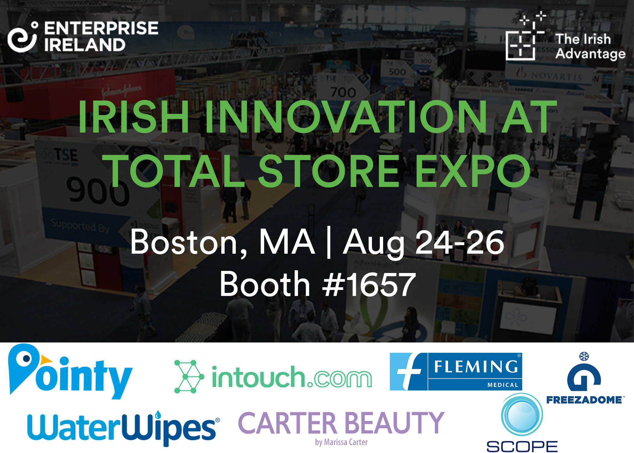 Irish companies on route to Boston for the Total Store Expo 2019
