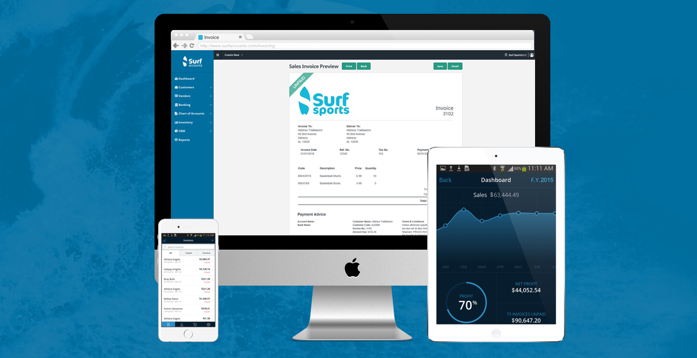Surf Accounts makes waves into U.S. Market